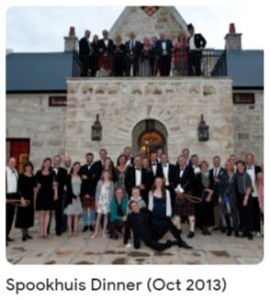 Spookhuis Dinner (Oct 2013)